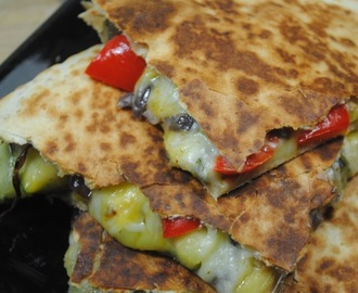 Fully Loaded Veggie Quesadillas Recipe
