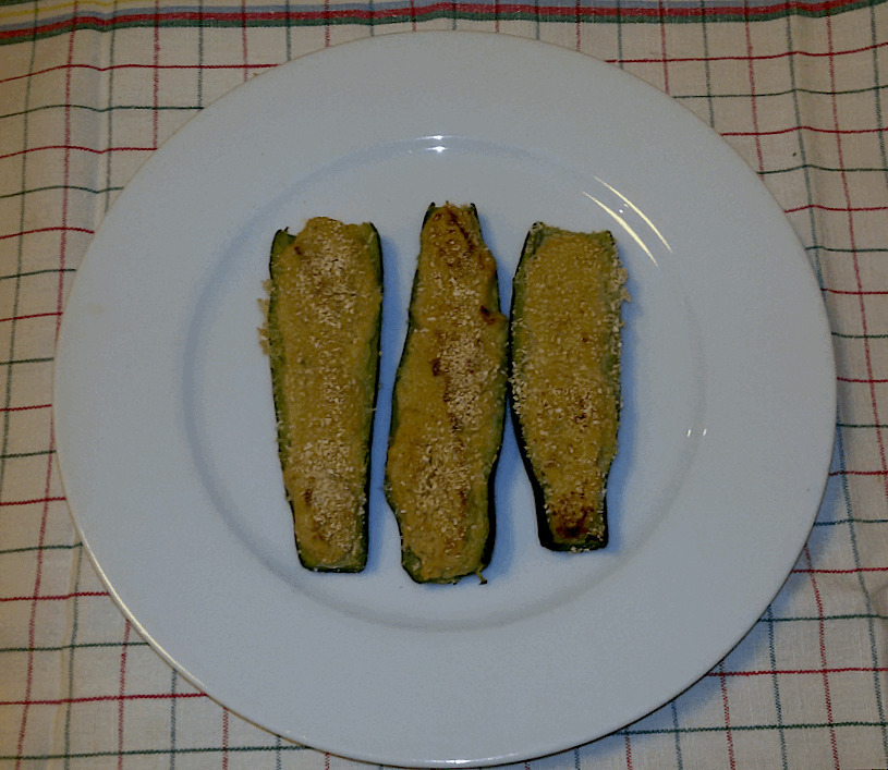 Vegetarian Stuffed Courgettes