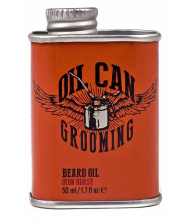 Oil Can Grooming Iron Horse Beard Oil 50ml
