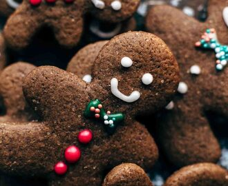 Easy Gingerbread Men Cookies