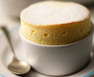 Mary Berry's hot lemon soufflés