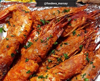 Tangy and Spicy Prawns