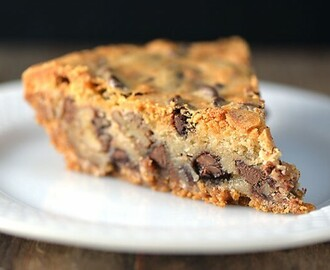 KK's Chocolate Chip Cookie Pie Recipe