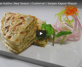 Matar Paneer Kulcha Recipe Video