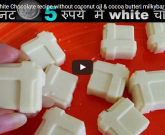 White Chocolate Recipe Video