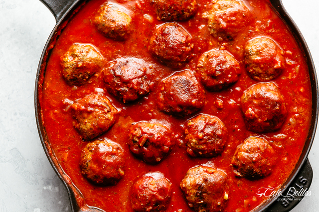 Cheesy Meatball Recipe
