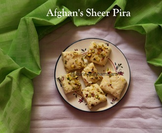 Afghan's Sheer Pira / Milk Powder Fudge / Milk Powder Burfi | Diwali Sweets