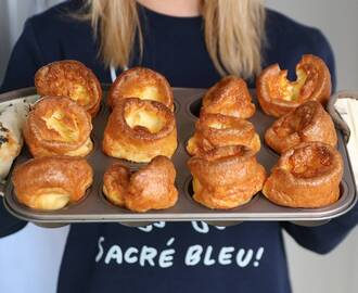 My 'All Rise' Gluten Free Yorkshire Pudding Recipe (dairy free & low FODMAP)