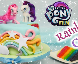 My Little Pony Cake I Rainbow Cake zu MY LITTLE PONY der Film