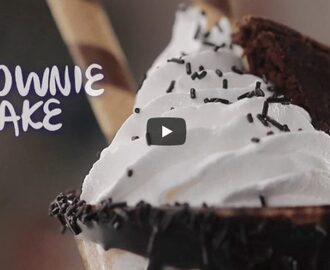 Brownie Shake Recipe Video
