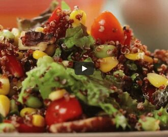 Red Quinoa Salad Recipe Video