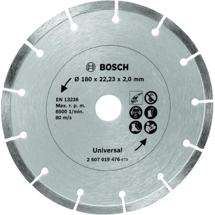 Diamant-kapblad 180 mm byggmaterial Bosch Accessories Universal 1 st