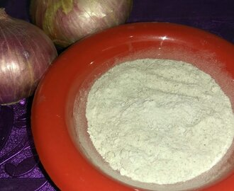 Onion Powder Sun-dried  Homemade