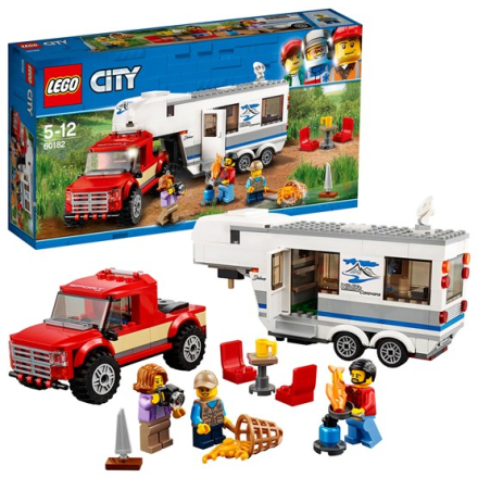 LEGO City Great Vehicles 60182, Pickup och husvagn