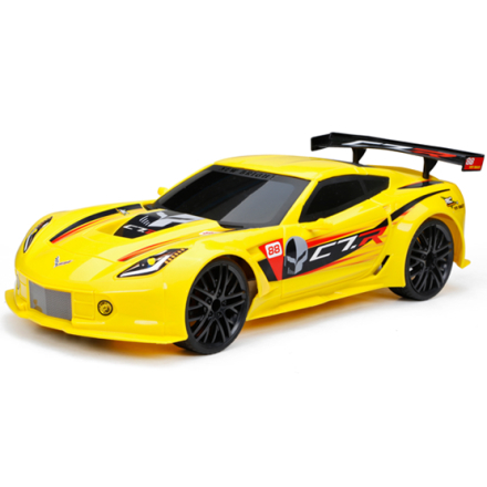 New Bright, 1:12 RC Chargers Corvette Gul