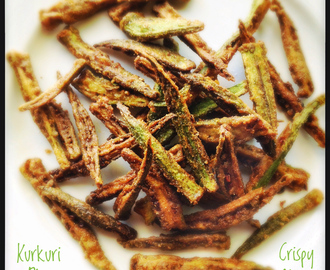 Kurkuri Bhindi | Crispy Spicy Fried Okra