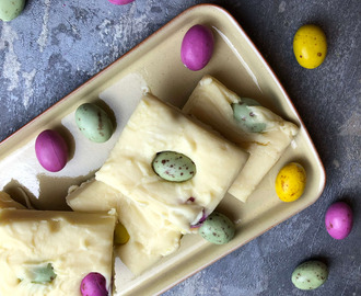 Nate's White Chocolate Easter Fudge Recipe