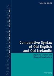 Comparative Syntax of Old English and Old Icelandi