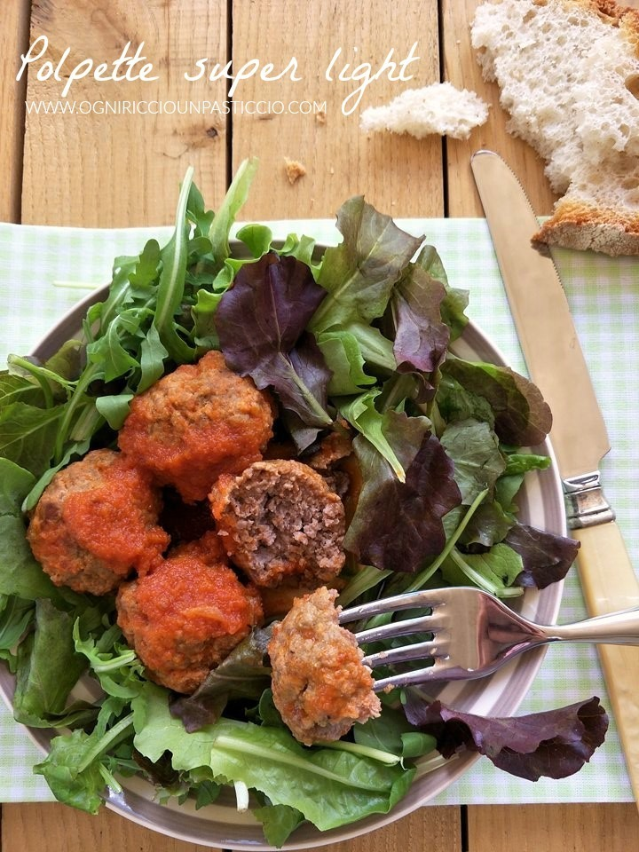 Polpette super light! ideali per chi è a dieta