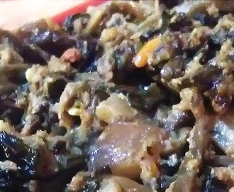 Laing Bicol With Pork