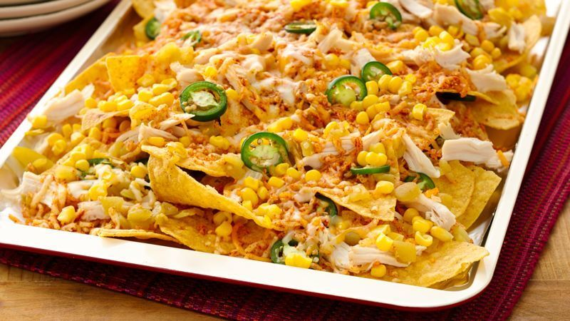 Easy Chicken Ten-Minute Nachos
