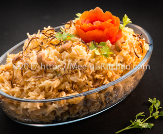 Tomato Rice with Coconut Milk/ Tomato Rice - MeemisKitchen