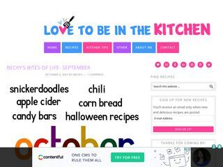 lovetobeinthekitchen.com