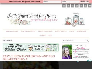 Faith Filled Food for Moms