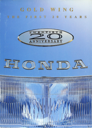HONDA Gold Wing: The First 20 Years (Twentieth Anniversary Edition)