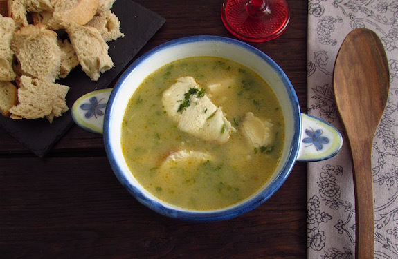 Traditional dogfish soup | Food From Portugal