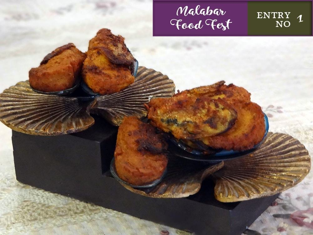 Kallumakkaya Nirachathu / Spicy stuffed, Steamed & fried Mussels