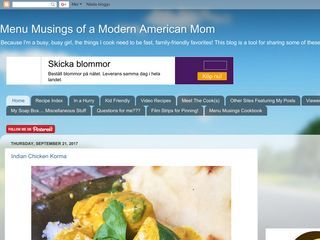 Menu Musings of a Modern American Mom