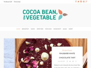 Cocoa Bean, The Vegetable