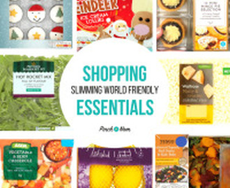 New Slimming World Shopping Essentials 15/12/17