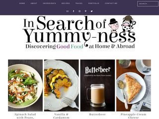In Search of Yummy-ness