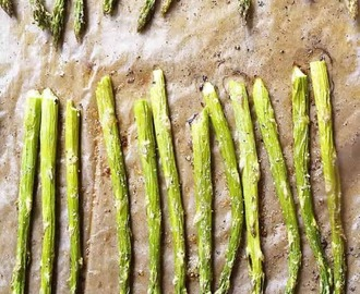 Garlic Butter Roasted Asparagus Recipe