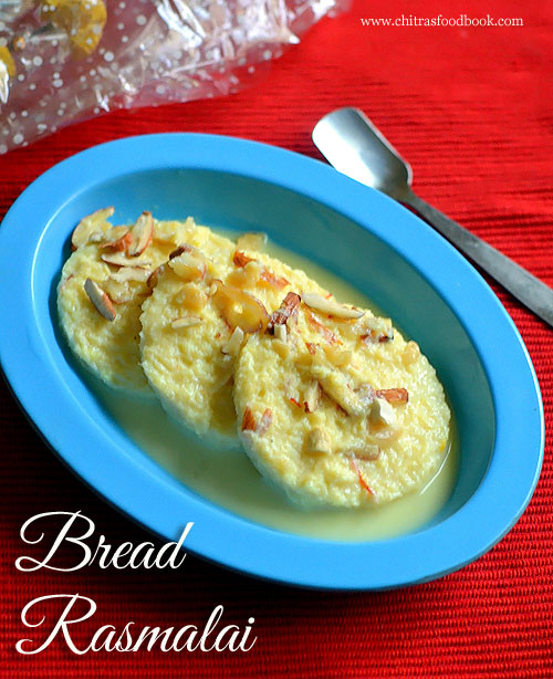 Bread Rasmalai Recipe - How To Make Instant Rasmalai With Bread
