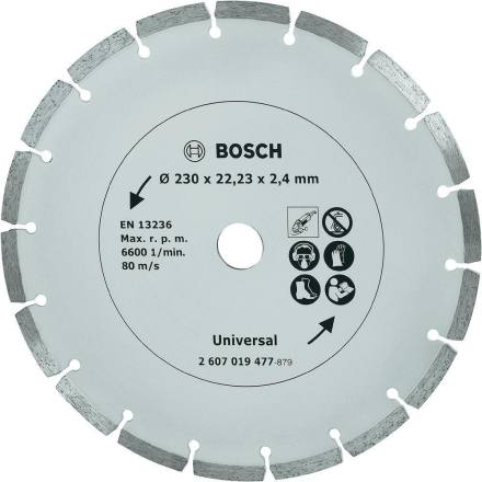 Diamant-kapblad 230 mm byggmaterial Bosch Accessories Universal 1 st