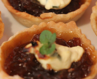 HOLIDAY CANAPÉS CARAMELISED SWEET ONION TARTS