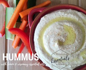 Lemon Rosemary Hummus