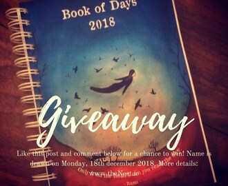 Waffle and a Book of Days Giveaway