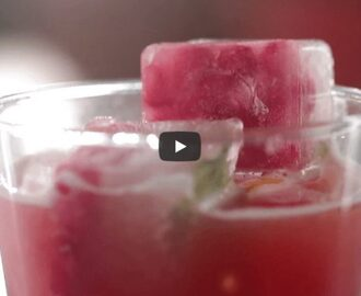 Pomegranate Ginger Cooler Recipe Video