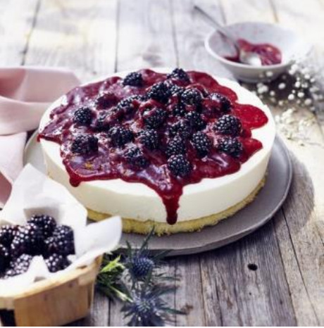 Thermomix Blackberry Cheesecake