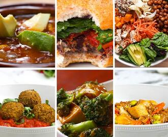 6 High Protein Vegetarian Dinners