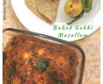 Baked Gobhi Musallam | GF and Vegan
