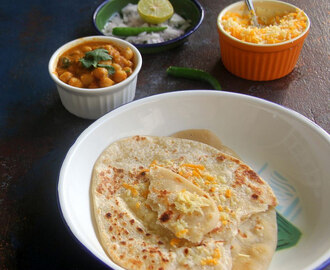 Cheese Naan recipe - Naan Recipe - Indian Bread recipe - Dinner, Party, Kids Friendly recipe