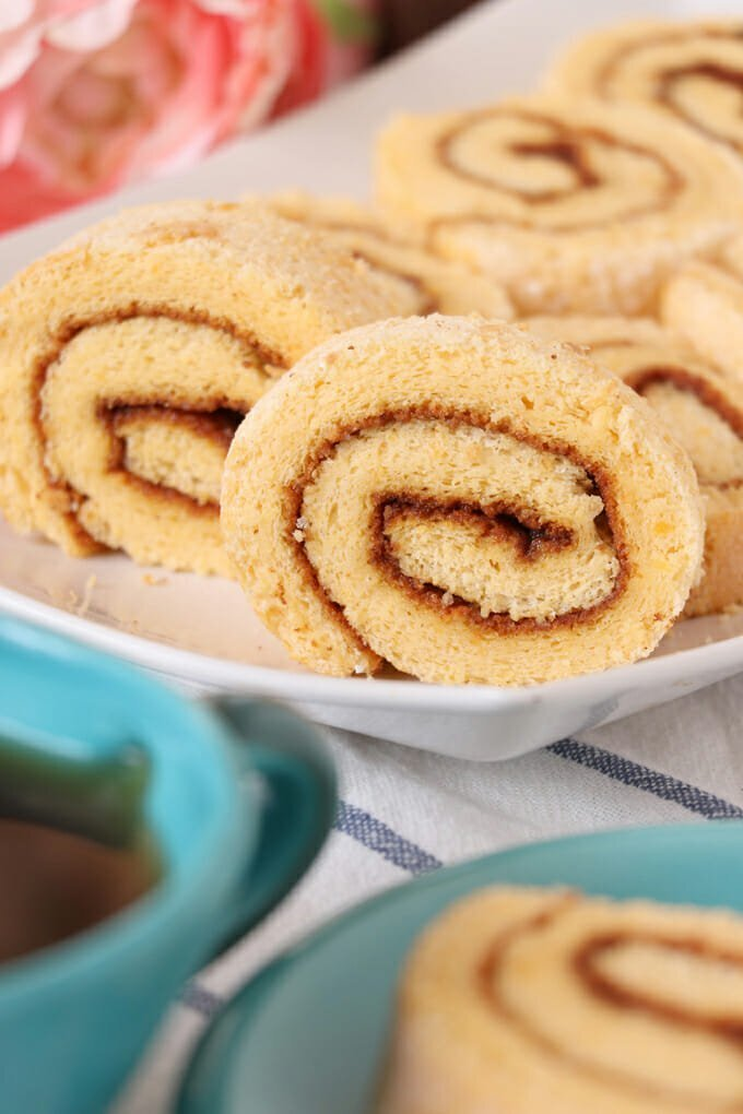 Pianono (Filipino Sponge Cake Roll)