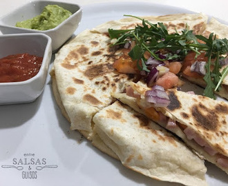 Quesadilla de jamon y queso