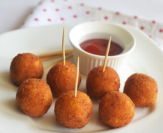 Corn Cheese Balls Recipe – Ingredients
