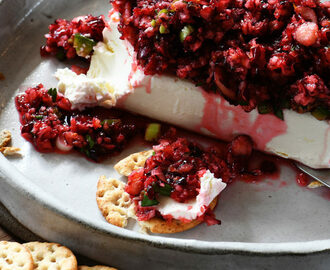 Orange Cranberry Salsa Cream Cheese Spread Recipe